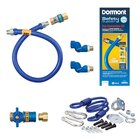 36 inch Dormont 1650KITCF2S Safety Quik Gas Appliance Connector Kit with SwivelMax Deluxe - 1/2 inch Diameter