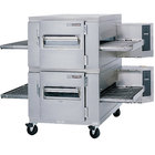 Lincoln 1400-2G Impinger I 1400 Series Natural Gas Double Conveyor Radiant Oven Package with 40