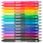 Paper Mate 1951636 InkJoy Assorted Ink with Assorted Barrel Color 0.7mm Retractable Gel Pen - 14/Pack