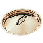 Matfer Bourgeat 365016 6 1/4 inch Copper Pot Lid