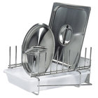 Matfer Bourgeat 015210 Stainless Steel Lid Drying Rack