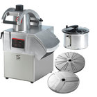 Sammic CK311 3 hp Combination Food Processor Kit with 5.25 Qt. Bowl, 1/8 inch Slicing, and 1/8 inch Shredding Discs