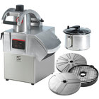 Sammic CK311 3 hp Combination Food Processor Kit with 5.25 Qt. Bowl, 3/8 inch Slicing, 3/8 inch Dicing, and 1/8 inch Shredding Discs