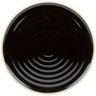 Chef & Sommelier FK843 Geode 10 3/4 inch Black Stackable Dinner Plate by Arc Cardinal - 12/Case