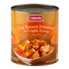 Cut Sweet Potatoes in Light Syrup - #10 Can