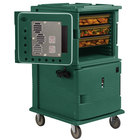 Cambro UPCH16002SP192 Ultra Camcart® Granite Green Electric Hot Food Holding Cabinet in Fahrenheit with Security Package - 220V