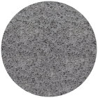 Art Marble Furniture Q405 24 inch Round Storm Gray Quartz Tabletop