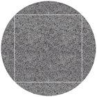 Art Marble Furniture Q405 51 inch Round / 36 inch x 36 inch Storm Gray Drop Leaf Quartz Tabletop