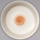 Villeroy & Boch 16-4020-3867 Amarah 27 oz. Red Sun Porcelain Deep Bowl - 6/Case