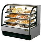 True TCGR-50 50 inch Stainless Steel Refrigerated Bakery Case