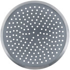 American Metalcraft CAR21P 21 inch Perforated Heavy Weight Aluminum CAR Pizza Pan