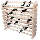 Franmara ED96-N Modularack Pro 96 Bottle Natural Wooden Modular Wine Rack End Display Unit
