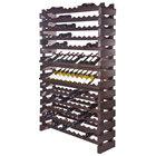 Franmara WM144-S Modularack Pro 144 Bottle Stained Wall Mount Wooden Modular Wine Rack