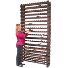 Franmara WM192-S Modularack Pro 192 Bottle Stained Wall Mount Wooden Modular Wine Rack