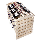 Franmara IF144-N Modularack Pro Island 144 Bottle Natural Wooden Modular Wine Rack