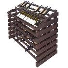 Franmara WF156-S Modularack Pro Waterfall 156 Bottle Stained Wooden Modular Wine Rack