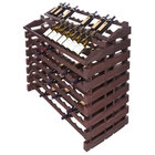 Franmara WF180-S Modularack Pro Waterfall 180 Bottle Stained Wooden Modular Wine Rack