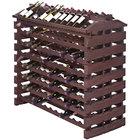 Franmara IF192-S Modularack Pro Island 192 Bottle Stained Wooden Modular Wine Rack
