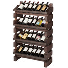 Franmara FD24-S Modularack Pro Full Display 24 Bottle Stained Wooden Modular Wine Rack