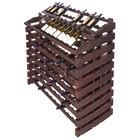 Franmara WF204-S Modularack Pro Waterfall 204 Bottle Stained Wooden Modular Wine Rack