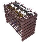 Franmara DD168-S Modularack Pro Double-Deep 168 Bottle Stained Wooden Modular Wine Rack