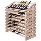 Franmara WF204-N Modularack Pro Waterfall 204 Bottle Natural Wooden Modular Wine Rack