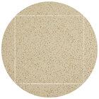Art Marble Furniture Q407 51 inch Round / 36 inch x 36 inch Cambrian Gold Drop Leaf Quartz Tabletop