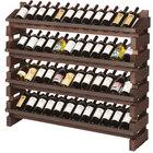 Franmara FD48-S Modularack Pro Full Display 48 Bottle Stained Wooden Modular Wine Rack