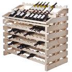 Franmara WF156-N Modularack Pro Waterfall 156 Bottle Natural Wooden Modular Wine Rack