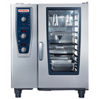 Rational CombiMaster Plus Model 101 B119206.27E202 Natural Gas Single Deck Combi Oven with ClimaPlus Technology - 120V