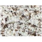 Art Marble Furniture Q411 24 inch x 30 inch Chocolate Blizzard Quartz Tabletop
