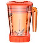 Waring CAC93X-28 The Raptor 48 oz. Orange Copolyester Blender Jar