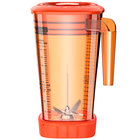 Waring CAC95-28 The Raptor 64 oz. Orange Copolyester Blender Jar