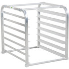 Regency 7 Pan Aluminum End Load Sheet / Bun Pan Rack for Reach-Ins - Unassembled