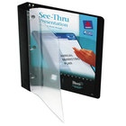 Avery 10852 Black See-Thru View Binder with 1