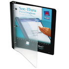 Avery 10802 Black See-Thru View Binder with 1/2