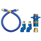 Dormont 1650BPCF2S36 Safety Quik® 36 inch Gas Connector Kit with Double Swivel MAX® - 1/2 inch Diameter