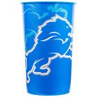 Creative Converting 119511 Detroit Lions 22 oz. Plastic Souvenir Cup - 20/Case