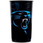 Creative Converting 119505 Carolina Panthers 22 oz. Plastic Souvenir Cup - 20/Case