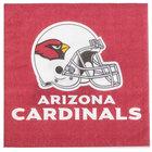 Creative Converting 669501 Arizona Cardinals 2-Ply Luncheon Napkin - 192/Case