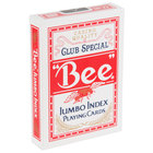 Bee Playing Cards No. 77 Jumbo Index Club Special - Poker
