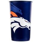 Creative Converting 119510 Denver Broncos 22 oz. Plastic Souvenir Cup - 20/Case