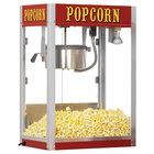 Paragon 1208110 Theater Pop 8 oz. Red Popcorn Popper - 240V (International Use Only)