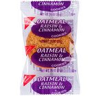 Nabisco 2 Count (.75 oz.) Homestyle Oatmeal Raisin and Cinnamon Cookies Snack Pack - 100/Case