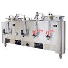 Grindmaster A83010(E) Triple Space Saver 10 Gallon Heat Exchange Coffee Urn - 120/208/240V, 3 Phase, 15 kW
