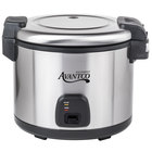 Avantco RC60 60 Cup (30 Cup Raw) Electric Rice Cooker / Warmer - 120V, 1550W