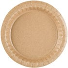 Solut 27020 7 1/2 inch Coated Kraft Paper Plate - 400/Case