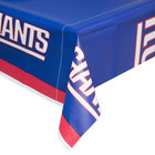 Creative Converting 729521 New York Giants 54 inch x 102 inch Plastic Table Cover - 12/Case