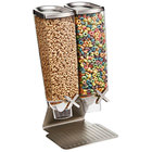 Rosseto EZ514 EZ-PRO SS Stand 3.8 Liter Double Canister Snack /Cereal Dispenser
