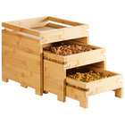 Rosseto BD131 Natura Nesting Bamboo 3-Tier Fruit Stand Set